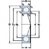 Bantalan 71814 ACD/HCP4 SKF